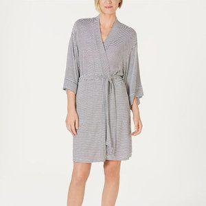 Alfani Striped Knit Kimono Robe NWT $79 XXL
